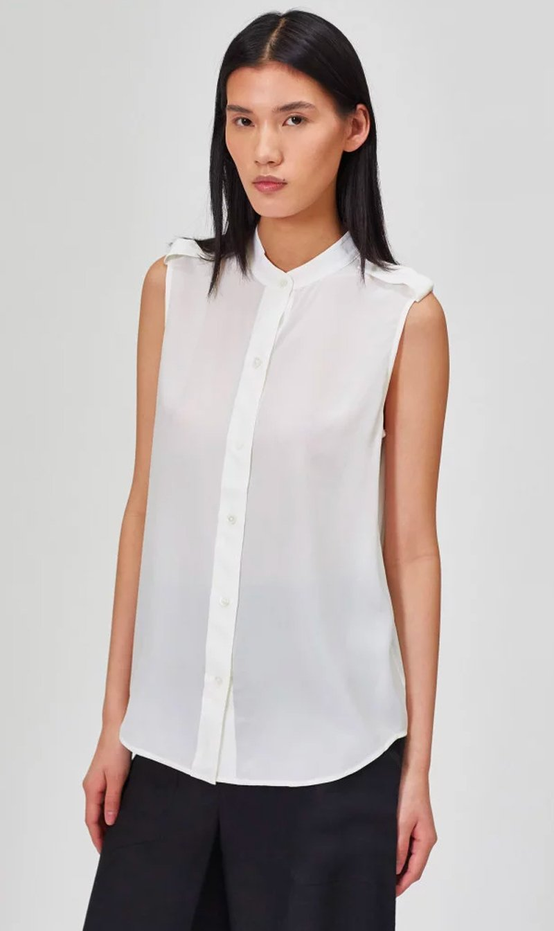Edwards Imports Ltd Womens Tops Equipment | Charlee Shirt - Bright White