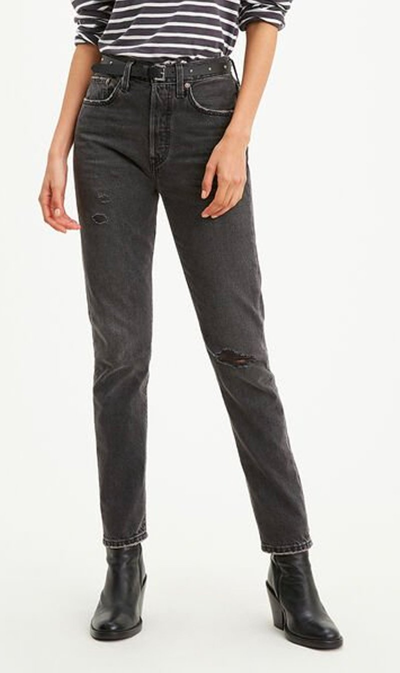 LEVI STRAUSS (NEW ZEALAND) LTD Womens Jeans Levi's | 501 Skinny - Blackmail