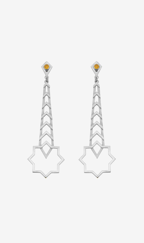 Zoe & Morgan Jewellery SILVER Zoe & Morgan | Zehra Earring - Silver