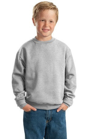 Jerzees Youth NuBlend Crewneck Sweatshirt. 562B