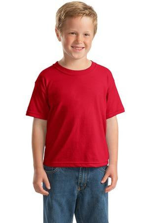 Gildan Youth DryBlend 50 Cotton/50 DryBlend Poly T Shirt. 8000B