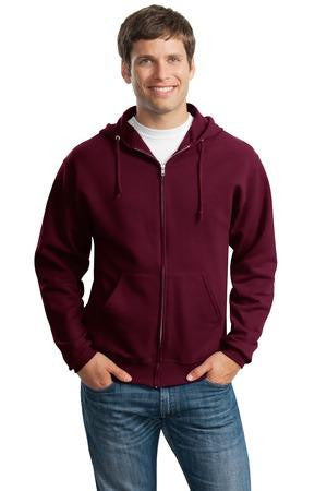 Jerzees NuBlend Full Zip Hooded Sweatshirt. 993M