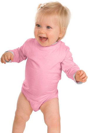 Precious Cargo Infant Long Sleeve 1 Piece with Shoulder Snaps. CAR22