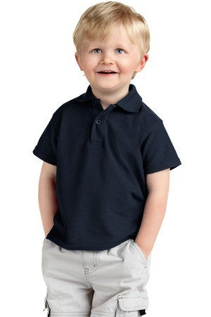 Precious Cargo Silk Touch Toddler Polo. CAR500