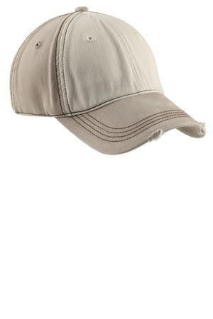 District Distressed Contrast Cap DT606