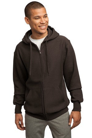 Sport Tek Super Heavyweight Full Zip Hooded Sweatshirt. F282