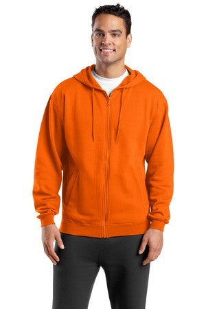 Sport Tek Full Zip Hooded Sweatshirt. F258