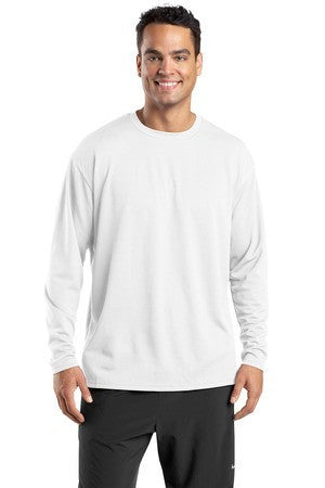 Sport Tek Dri Mesh Long Sleeve T Shirt. K368