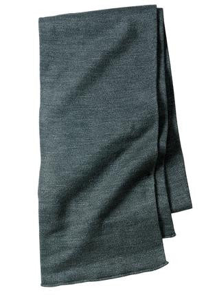 Port & Company Knitted Scarf. KS01