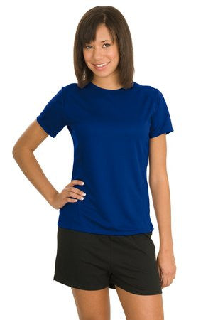 Sport Tek Ladies Dry Zone Raglan Accent T Shirt. L473
