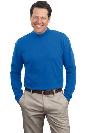 Port & Company Mock Turtleneck. PC61M