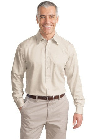 Port Authority Long Sleeve Non Iron Twill Shirt. S638
