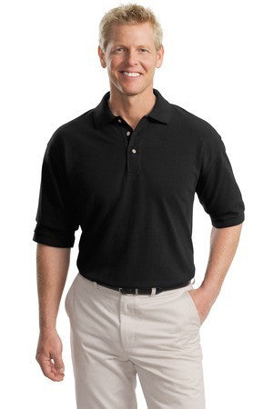 Port Authority Tall Pique Knit Polo. TLK420