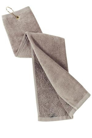 Port Authority Grommeted Tri Fold Golf Towel. TW50