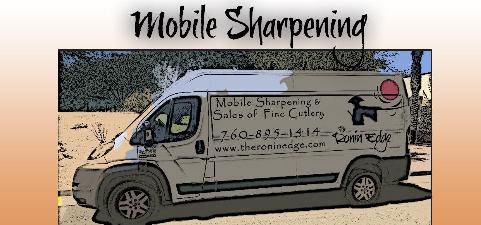 Mobile Sharpening & Sales of Fine Cutlery