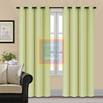 Velvet Curtain (Light Green)