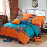Oxford Duvet Set orange