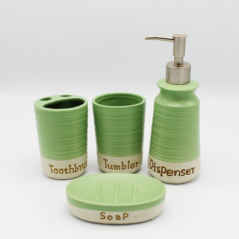 Bath Set (Green)