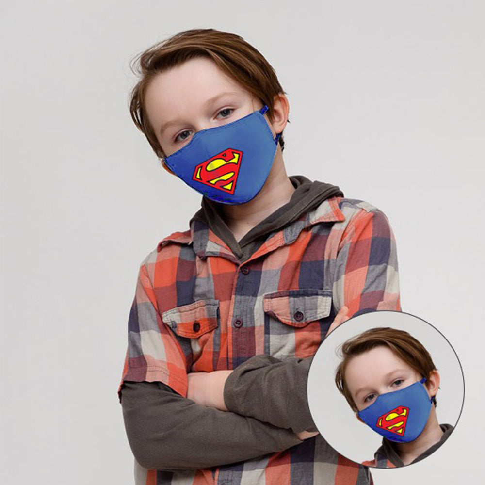 Kids face Mask (Super Man)