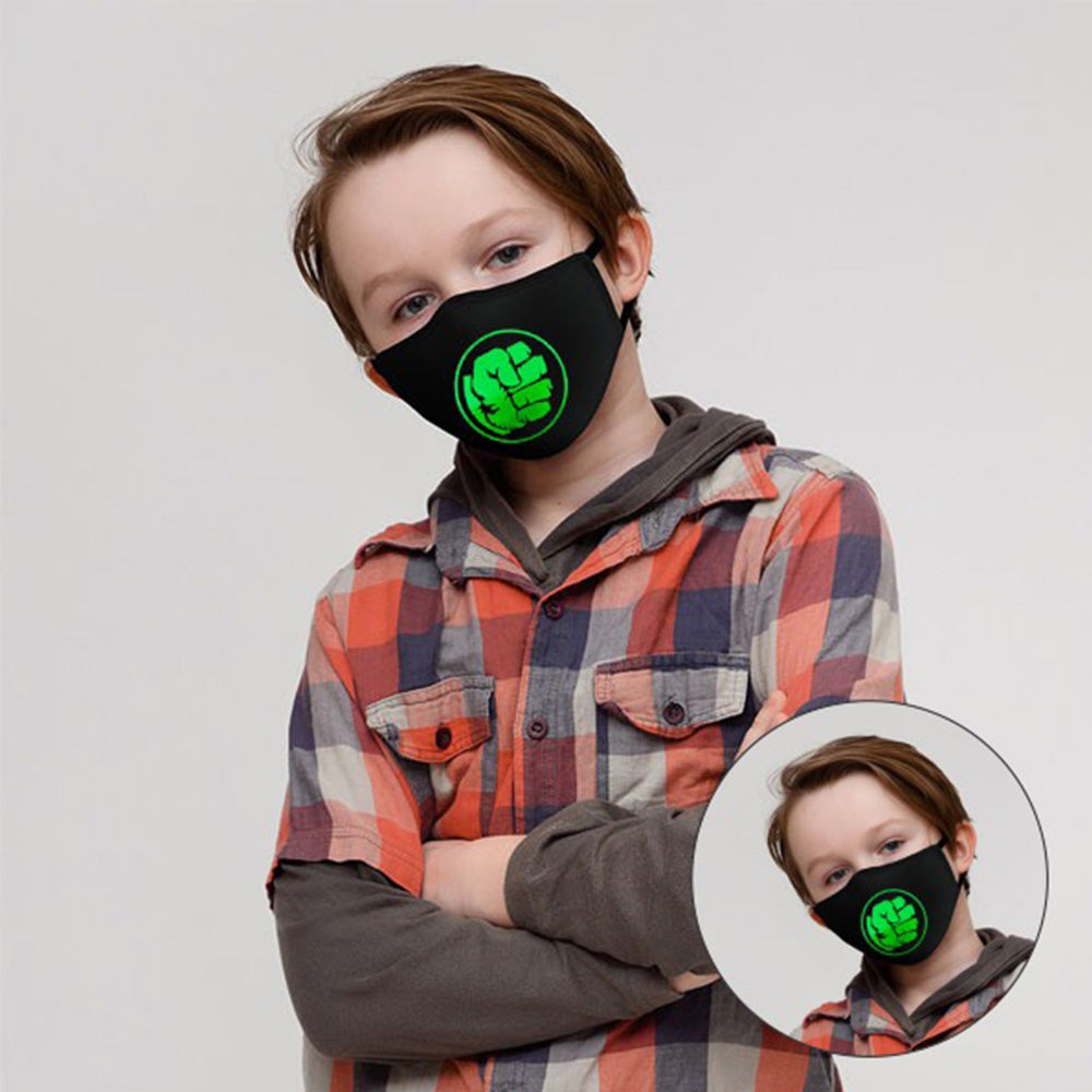 Kids face Mask (Hulk)