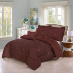 Embroidered Comforter Set (Polo)