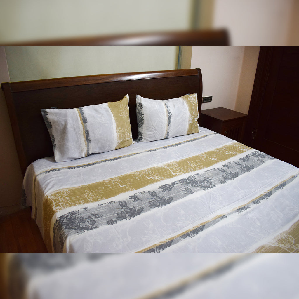 Printed Bed sheet (Satin)