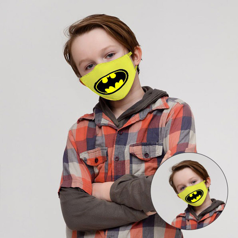 Kids face Mask (Bat Man)