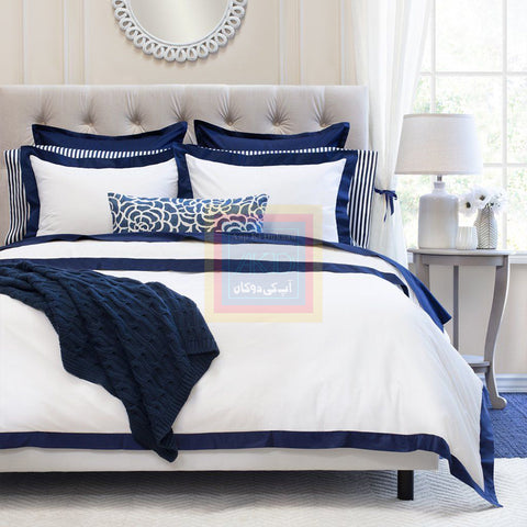 Cotton Border Duvet Set