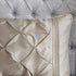 Luxury Pintuck Duvet Cover Set (Beige)