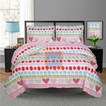 Printed Bedspread With Reversible Print 06