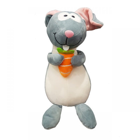 Kids Rabbit with Carrot Stuff Toy 01