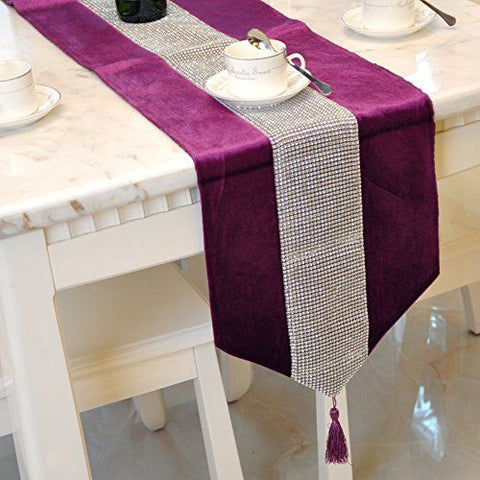Table Runner (Purple)