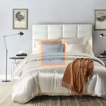 White Silk Duvet Set