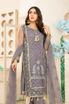 Embroidered 4Pcs suit (unstitched) AEL-20304