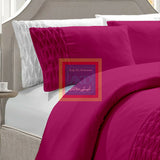 Twisted Duvet Set (Shocking pink)