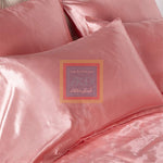 Raisin Silk Duvet Set