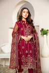 Embroidered 4Pcs suit (unstitched) AEL-20307