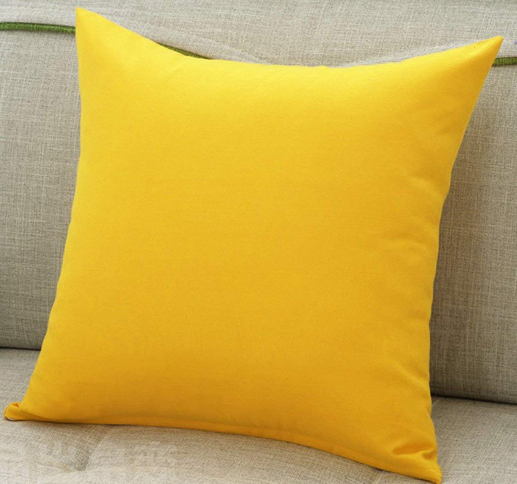 Cushion Cover (Yellow)