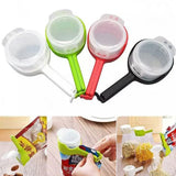 Snack Sealing Clips Sealer Clamp with Lid Kitchen Gadget
