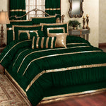 Luxury Bridal Silk Set (Green)