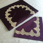 Silk Prayer Mats (Purple)