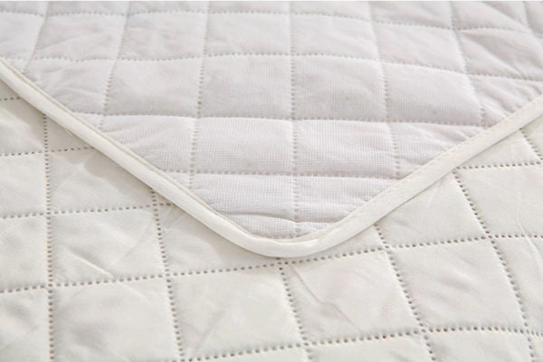 Off-White Quilted Protector