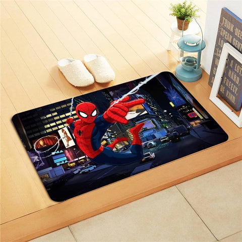 Spiderman Kids Foot Mat