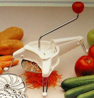Rotary Grater with 5 Stainless Steel Cutter