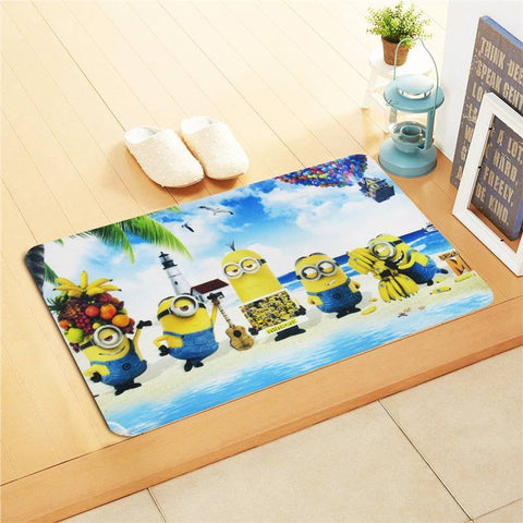 Minions Kids Foot Mat