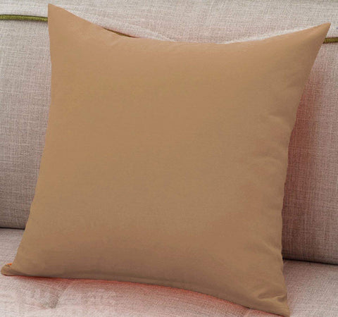 Cushion Cover (Camel Brown)