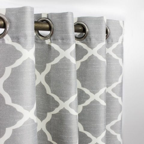 Printed Curtain With Lining 014