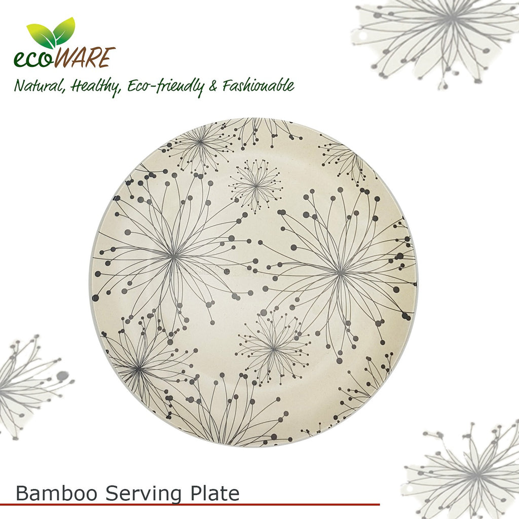 Bamboo Plate (Pack of 4)