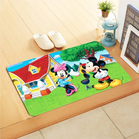 Mickey Mouse Kids Foot Mat
