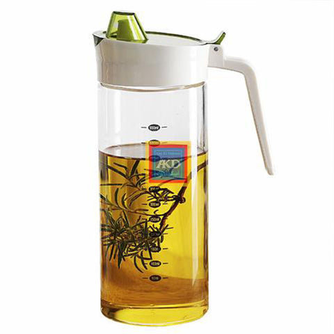 Quantify Glass  Crurt Oil Jug 550ML